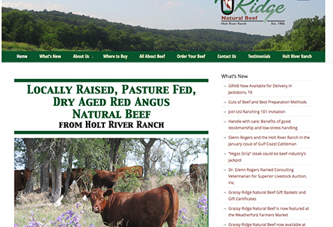 Grassy Ridge Natural Beef