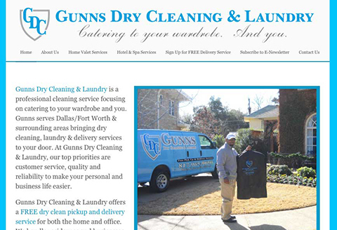 Gunns Dry Cleaning