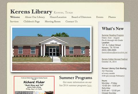 Kerens Library