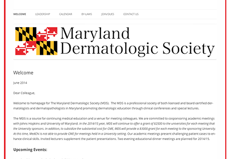Maryland Dermatologic Society