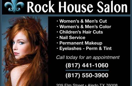 Rock House Salon Ad