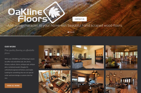 Oakline Floors Website