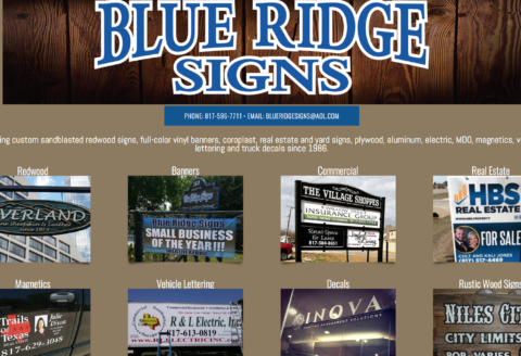 Blue Ridge Signs